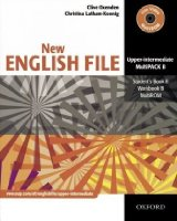 New English File. Upper-Intermediate. Part B Student's Book, Workbook with Key und Multi-CD-ROM