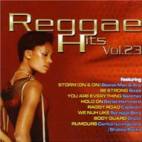 #23 Reggae Hits CD 20-Track