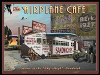 Airplane Cafe vON Larry Grossman, 64x49