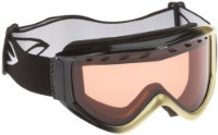 Smith Schneebrille CASCADE PRO AIR, schwarz/gold (black/gold)/ RC36-Rosecopper