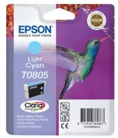 Epson Tintenpatrone light cyan T0805 Claria Photographic Ink
