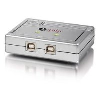 equip USB 2.0 Sharing Switch (2 PCs -> 1 Drucker) Steckverbindung