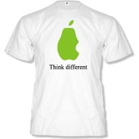 APPLE - THINK DIFFERENT T-SHIRT by DoubleM Gr. S bis XXL