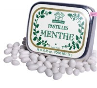 Mountain Secret (France) - provenzalische Minzpastillen / Pastilles Menthe 16 GR (netto)