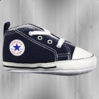 Converse Schuhe First Star Baby Chucks 88865 navy - Converse All Star Kinderschuh