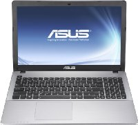 Asus F550DP-XX021H 39,62 cm (15,6 Zoll) Notebook (AMD  A8-5550 2,1GHz, 4GB RAM, 500GB HDD, AMD Radeon HD 8550M, DVD, Windows 8) grau