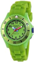 MADISON NEW YORK Unisex-Armbanduhr Candy Time Kids Analog Quarz Silikon U4615-69