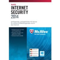 McAfee Internet Security 2014 - 3 PCs [Download]