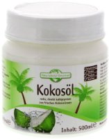 New World Gourmet Kokosöl - nativ, kaltgepresst 500 ml, 1er Pack (1 x 500 ml)