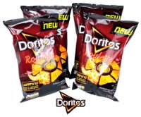 Doritos Tortilla Chips ROULETTE Tangy Cheese 4Pack | Dipworld Edition