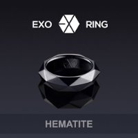 KPOP EXO GIFT EXO L RING FOR FANS MADE OFFICIAL RING (BLACK1)
