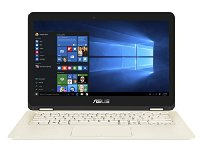 Asus Zenbook Flip UX360CA-C4021T 33,78 cm (13,3 Zoll Full HD) Notebook (Intel Core M3-6Y30, 8GB RAM, 256GB SDD, Intel HD 515, Windows 10 Home) gold